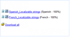 Steve's fully translated string files