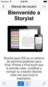 Translated Storyist user guide