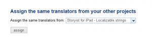 Assign the same translators