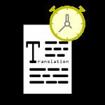 Translation turnarounds - How long does translation take?